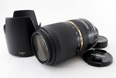 Tamron A005 AF 70-300mm f/4-5.6 SP Di USD VC Zoom Lens for Nikon [Exc++] #479553
