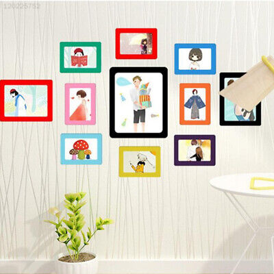 Refrigerator Photograph Frame Fashion Home Magnetic Photo Frame Picture Magnet
