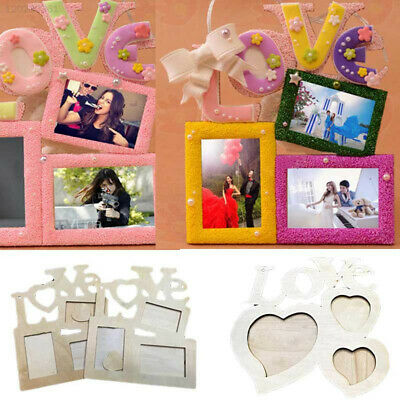 CD92 Hollow Picture Frame Love Home Decor