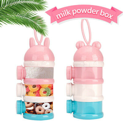 Cartoon Infant Milk Powder Box Uesful Candy Polypropylene Baby Milk Powder Box