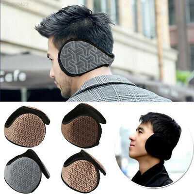 13A8 Lovely Soft Man's Warm Earmuffs Solid Ear Cover Gift Outdoor Anti-Wind