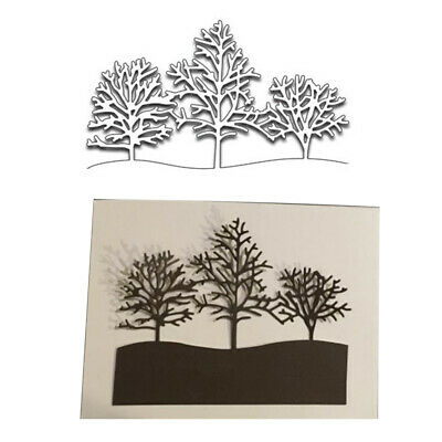Tree Metal Cutting Dies DIY Scrapbooking Emboss Paper Cards Making Stencil Mold*