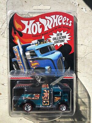 Hot Wheels RLC 2016 Collector Edition Kmart Custom 38 Ford COE Mail In Protecto