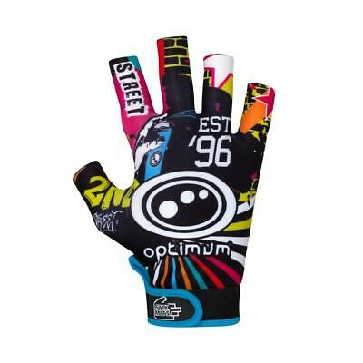 Optimum Junior Sports Rugby Gloves with Elasticated Wrist & Velcro Adjustment