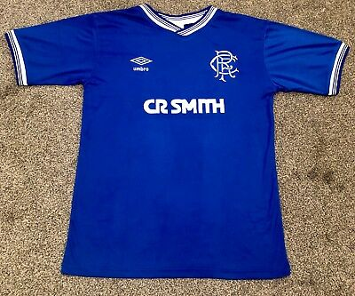 Retro Glasgow Rangers 1984-1987 Home Shirt ALL SIZES