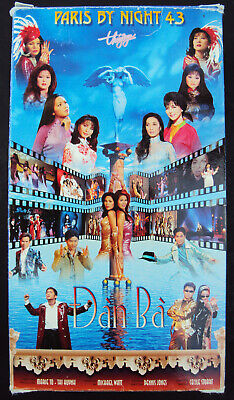 Thuy Nga Paris by Night 43 DAN BA Vietnamese Music VHS 2-tape Set