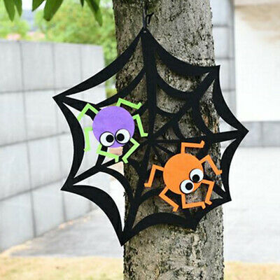 Halloween Sign Witch Ghost Pumpkin Non-Woven Home Party Hanging Door Wall Decors