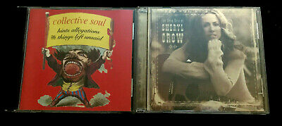 Sheryl Crow: Best Of, Collective Soul: Hints Allegations Albums! 2 CD's!