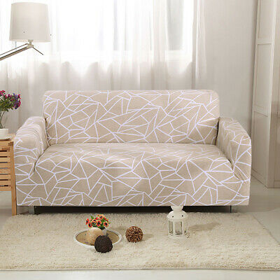 1/2/3/ Elastic Fabric Sofa Cover Sectional/Corner Couch Covers Fit Home Decor