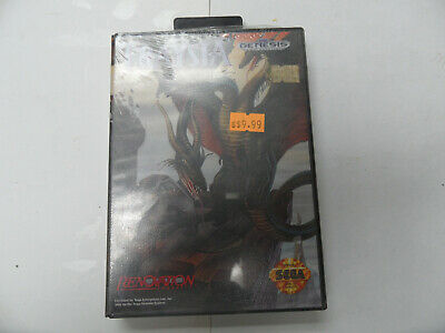 Traysia US Version for Sega Genesis system Very Rare  BRAND NEW  Factory Sealed