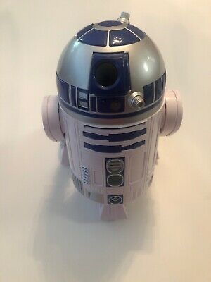 """Disney Store Star Wars R2-D2 Talking 10.5/"""" Figure Droid Sounds Moving 2015 NEW"""