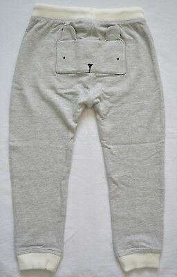 BNWT Next Girls 2-3 Years Grey Bunny Joggers