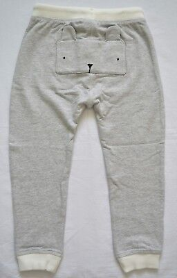 BNWT Next Girls 3-4 Years Grey Bunny Joggers