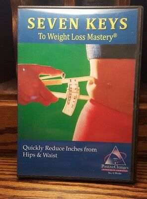 Seven Keys To Weight Loss Mastery Quickly Reduce Inches Hips Waist Hypnosis CD