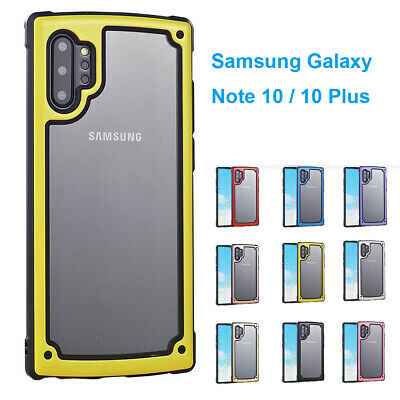 Shockproof Hybrid Armor Rugged Soft Case Cover For Samsung Galaxy Note10/10 Plus