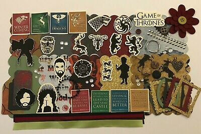 Game Of Thrones Scrapbook  Kit Project Life Paper Tyrion Daenerys Jon Snow