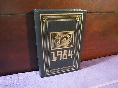 Nineteen Eighty-Four 1984 By George Orwell~~1992 Easton Press Leather Bound