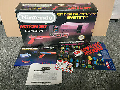 Nintendo Entertainment System Action Set NES EMPTY BOX ONLY