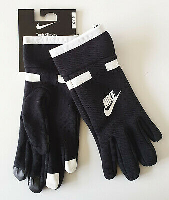 Nike Gloves Boys Childs Tech Sport Black Size 4 to 7 Years Genuine Brand New