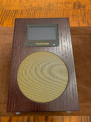 Tivoli Audio Networks Internet Radio Streamer Wenge Gold WiFi Remote Box