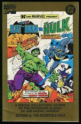 Batman vs Incredible Hulk Special Collectors Edition Comic 1995 Reprint Joker