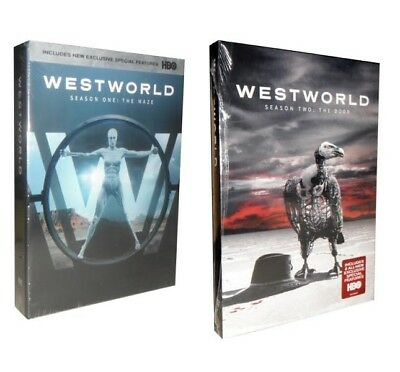 Westworld - Complete Seasons 1 & 2 (DVD, 2018, 6-Disc Set)
