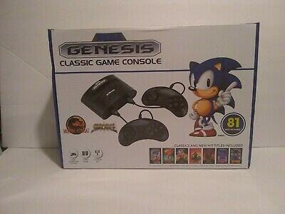 Sega Genesis Classic Game Console 81  Games built in by AtGames retro