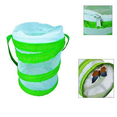 Fold Insect-Proof Net Cage Butterfly Garden Caterpillars Tool Observe Life Cycle