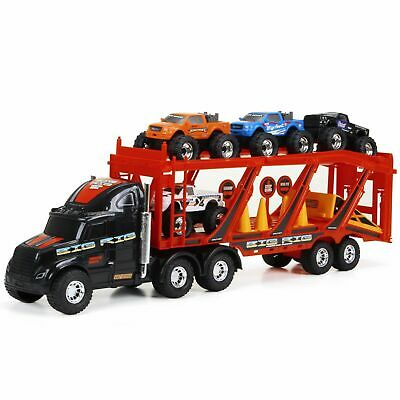 New Bright 22-inch Big Foot Car Carrier with 4 Trucks