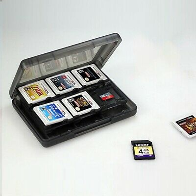Game Card Case Holder 28 in1 Storage Box For Nintendo 3DS 2DS DSi XL Pretty