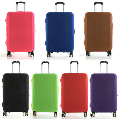 Travel Luggage Bags Case Suitcase Dustproof Cover Pure Scratch Protector Elastic
