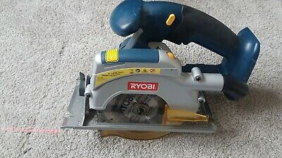 Ryobi CCS-1801/L 18V ONE+ range circular saw - runs on both Ni-Cd & Li-ion batts