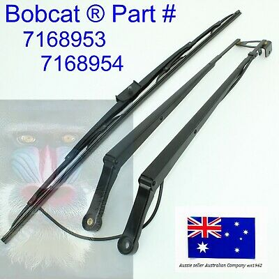 Bobcat Windscreen Wiper Arm 7168953 and Windshield Wiper Blade 7168954 Assembly