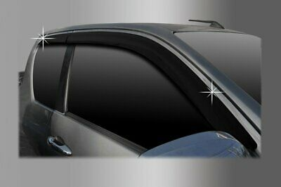 For Toyota Hilux 2016+ Extra Cab Wind Deflectors Set (4 pieces)