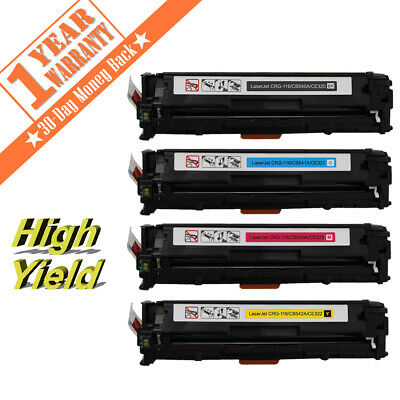 4PK For Canon116 Color Toner Cartridge Combo Set For MF8050CN MF-8030 MF-8080CW