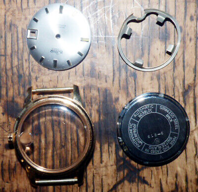 34 mm Watch Case  for 28mm dial with date swiss made