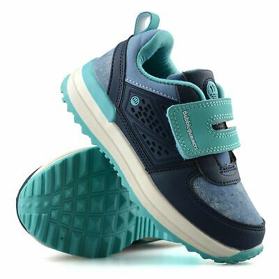 Boys Girls Childrens Casual Touch Strap Memory Foam Sports Trainers Shoes Size