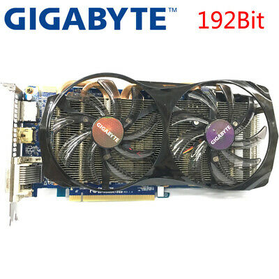 GIGABYTE Video Card GTX660 2GB 192Bit GDDR5 Graphics Cards for nVIDIA Geforce GT
