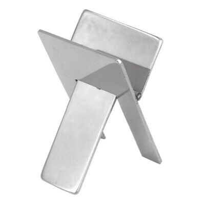 Stainless Foldable Ashtray Display Cigarette Cigar Stand Holder New