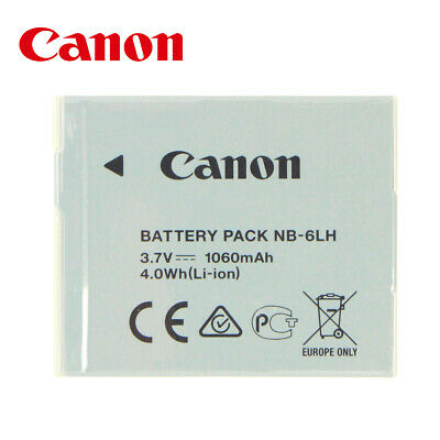 Genuine CANON Battery NB-6LH PowerShot SX700 SX600 SX170 SX500 SX510 SX520 S200
