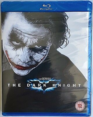 The Dark Knight - Directed by Christopher Nolan (Blu-ray) NEW & SEALED