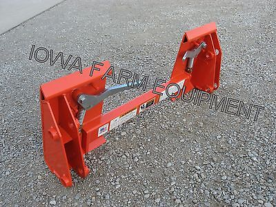 KOYKER QUICK ATTACH or Pin-On Loader to Skid Steer Quick