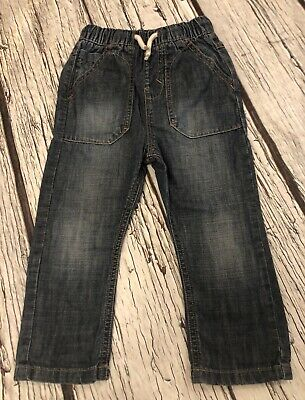 18-24 Months Boys Next Pull On Jeans Blue Baby
