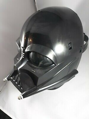Darth Vader Helmet Star Wars Mask 2004 Hasbro Lucas Film Authentic Cosplay Lot 2