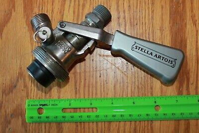 Micro Matic SK 184 016 Beer keg metal tap handle Stella Artois Vintage coupler