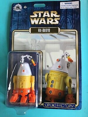 Disney Parks 2018 Star Wars R4-B0018 R4-BOO18 Halloween Droid Factory Figure.