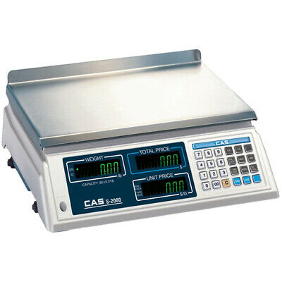 CAS Price Computing Scale, 60 Lbs