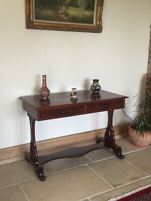 Victorian Mahogany Console Table ,Writing Desk, Dressing Table.