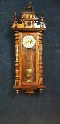 Vintage wall clock possible local delivery.