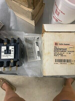 Cutler-Hammer Contractor 3 Pole 60 A 24V age C25FNF360T